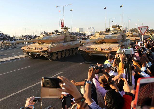 العرض العسكري للقوات المسلحة القطرية