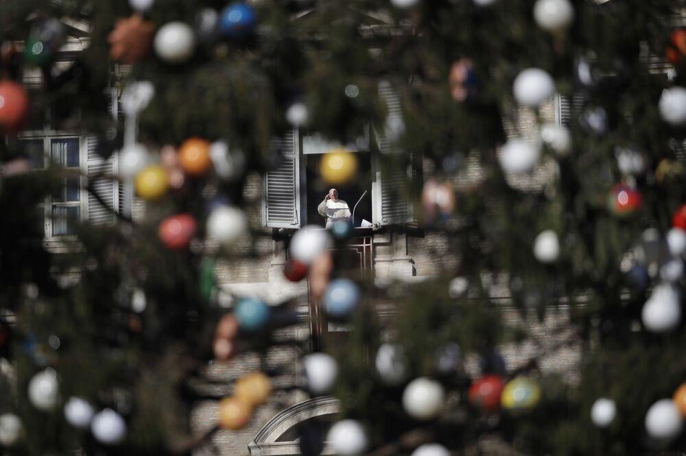 الاحتفالات بعيد الميلاد المجيد - الفاتيكان 24 ديسمبر/ كانون الأول 2017