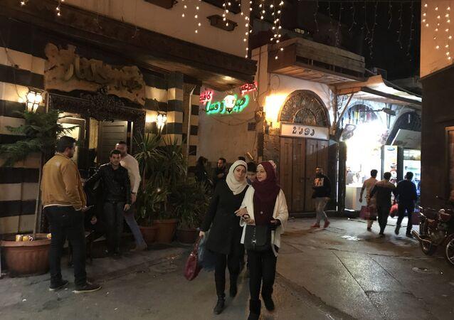 احتفالات بعيد الميلاد في دمشق، سوريا