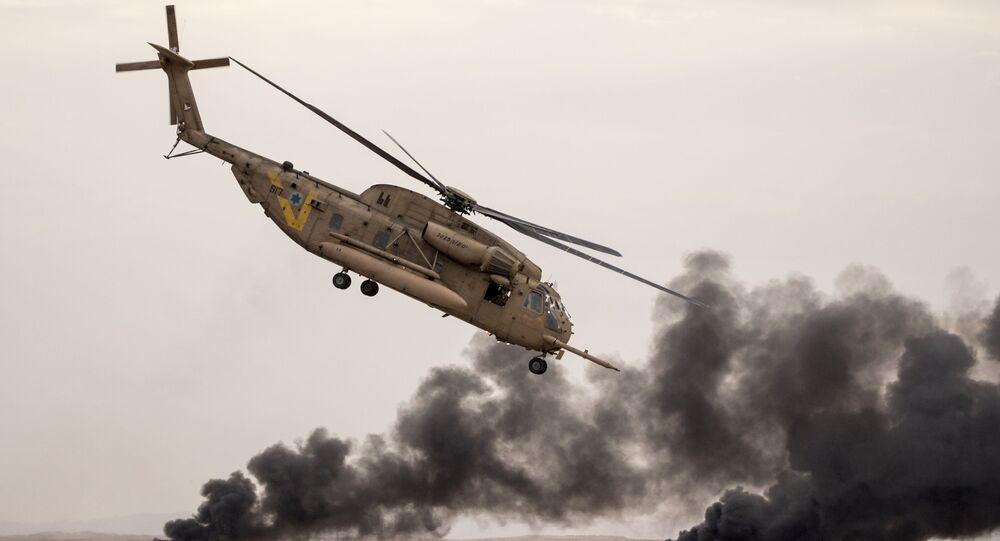 القوات الجوية الإسرائيلية، القاعدة الجوية الإسرائيلية هاتزيريم، صحراء النقب 27 ديسمبر/ كانون الأول 2017