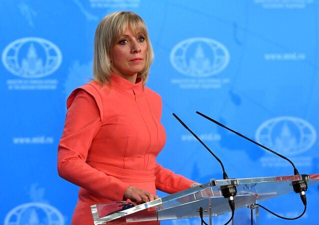 المتحدثة الرسمية باسم الوزارة الخارجيبة الروسية ماريا زاخاروفا، موسكو، روسيا 28 ديسمبر/ كانون الأول 2017