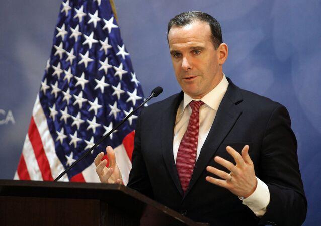 ذكرالمبعوث الأمريكي الخاص لمكافحة داعش  بريت ماكغورك