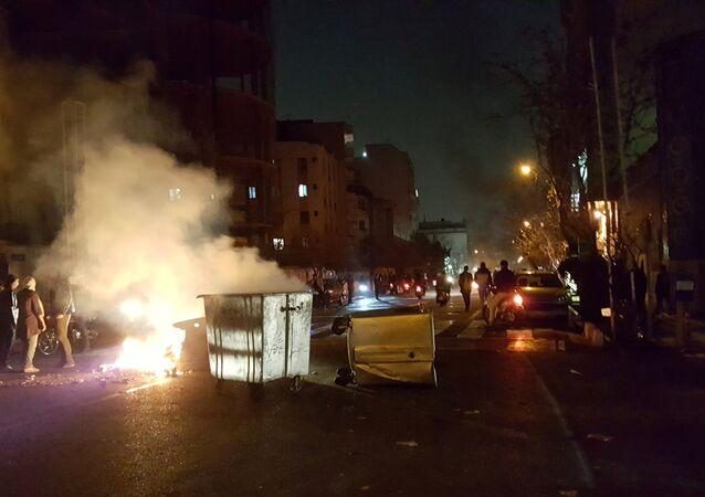 احتجاجات إيران 30-12-2017