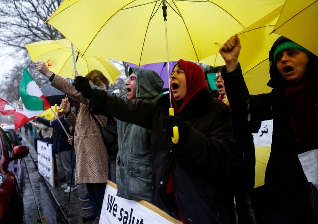 تظاهرات إيران