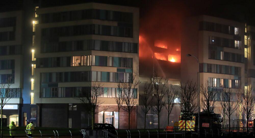 حريق ليفربول