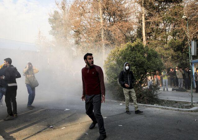 الاحتجاجات في إيران