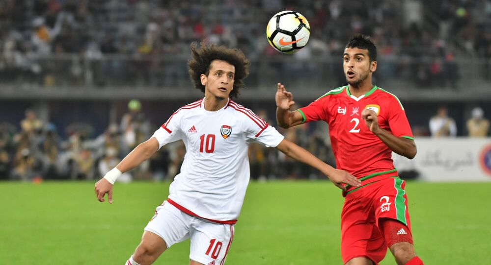 مباراة منتخب سلطنة عمان والإمارات في نهائي خليجيى 23