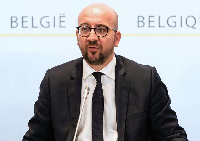 رئيس الوزراء البلجيكي شارل ميشيل