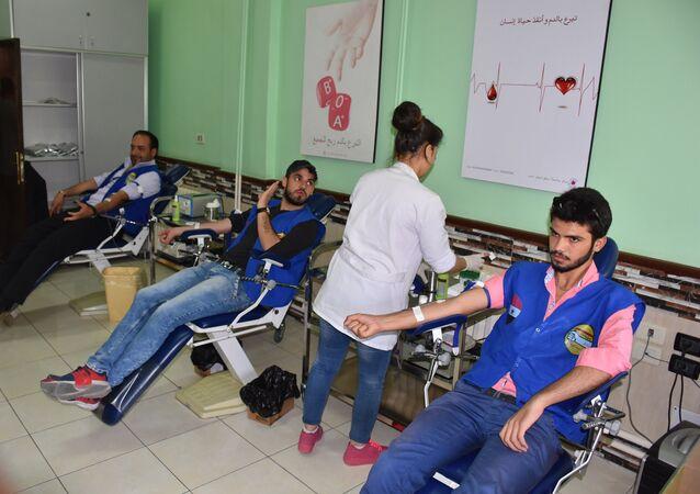 حملات التبرع بالدم، شبيبة الثورة السورية