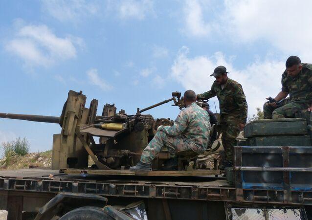 الجيش السوري يكتسح معاقل النصرة ويتقدم في ريف ادلب