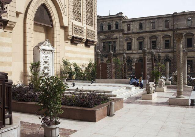 مبنى متحف الفن الإسلامي في القاهرة