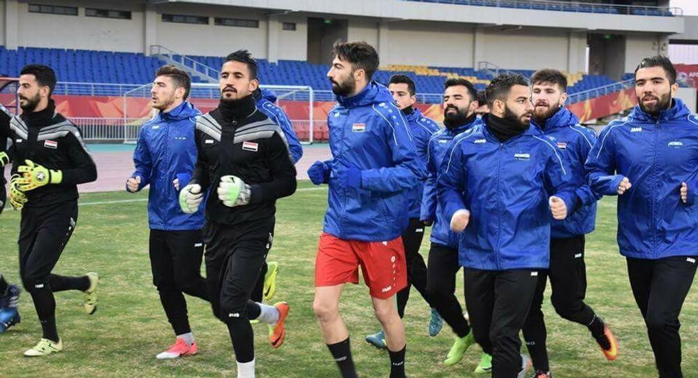 تدريبات المنتخب السوري
