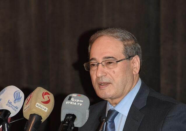 فيصل المقداد يتحدث في ندوة سوريا بشائر النصر