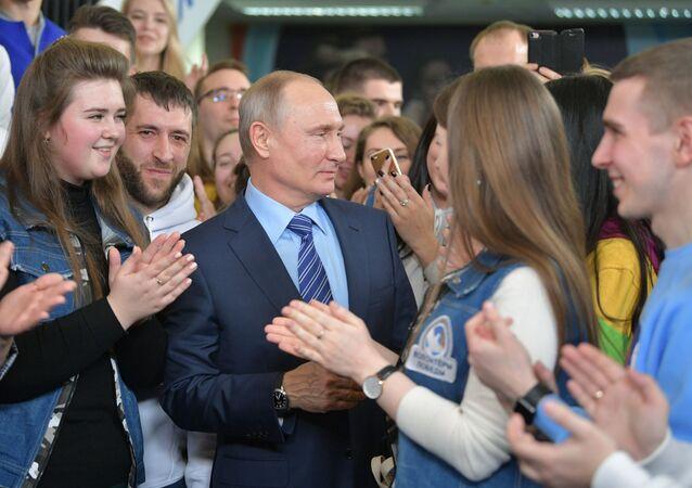 حملة بوتين الانتخابية