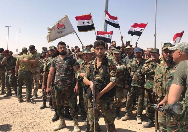 جنود الجيش السوري