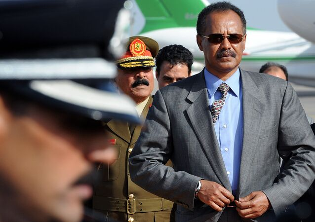 الرئيس الإريتري أسياس آفورقي