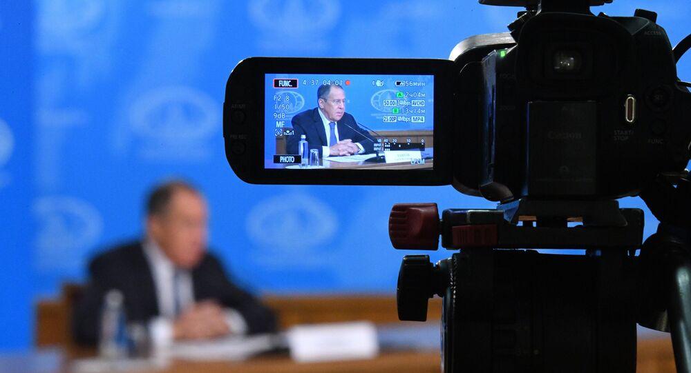 مؤتمر وزير الخارجية الروسي سيرغي لافروف لعام 2018