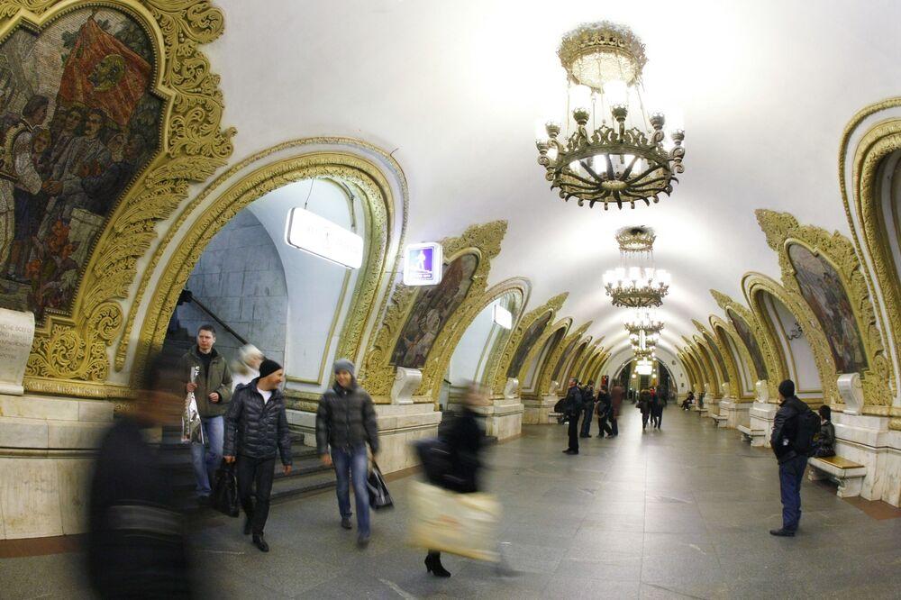 مترو كييفسكايا لخط مترو الأنفاق الدائري في موسكو