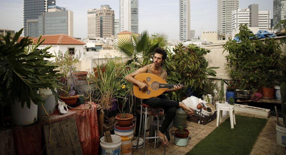 الحياة على السطوح - مدينة تل أبيب