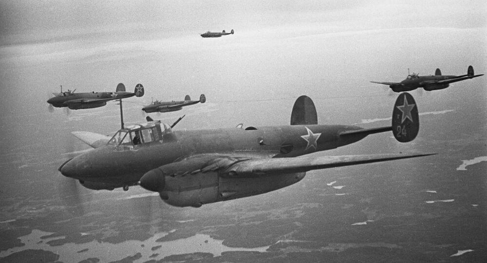 قاذفات المجموعة الـ 14 من قوات الدفاع الجوي التابعة لجبهة فولخوفسكي لدى كسر حصار لينينغراد، خلال فترة الحرب الوطنية العظمة (1941-1945)