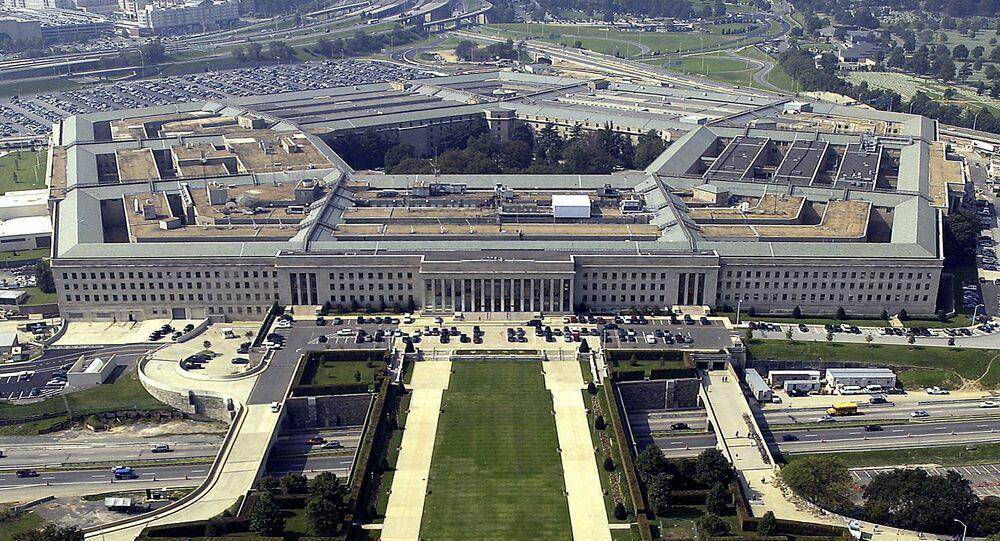 مبنى وزارة الدفاع الأمريكية (البنتاغون) في واشنطن