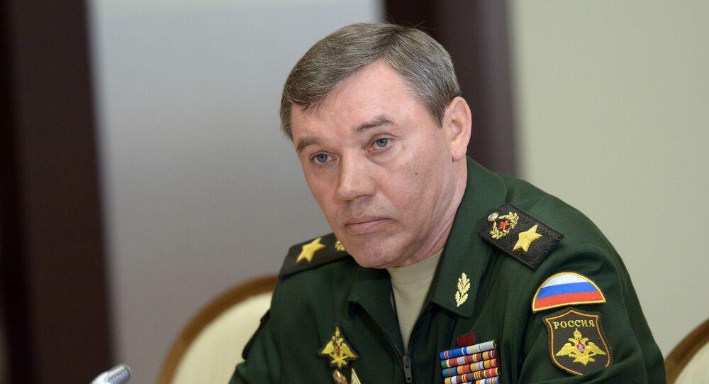 رئيس هيئة الأركان الروسية فاليري غيراسيموف