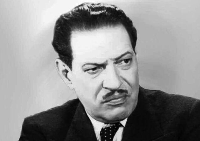 الممثل المصري نجيب الريحاني
