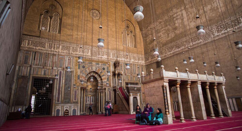 مسجد السلطان حسن، القاهرة، مصر
