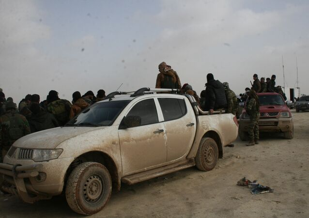 قوات الجيش السوري الحر المشاركة في العملية العسكرية في عفرين، سوريا
