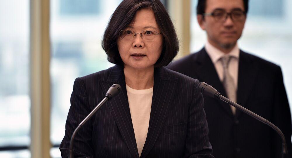 رئيسة تايوان تساي إينج