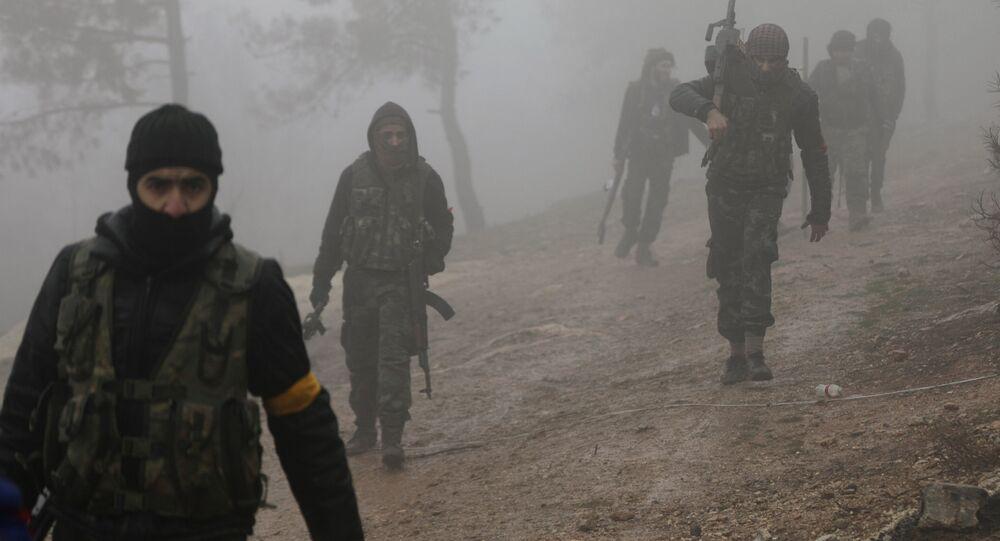 مقاتلو الجيش السوري الحر المدعوم من تركيا