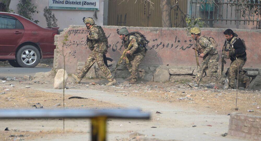 انفجار قرب مكتب منظمة إنقاذ الطفولة في مدينة جلال أباد شرقي أفغانستان