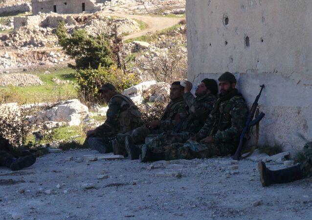 معاقل النصرة في ريف إدلب بعد تحريرها