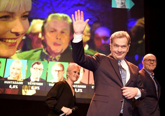 الرئيس الفنلندي