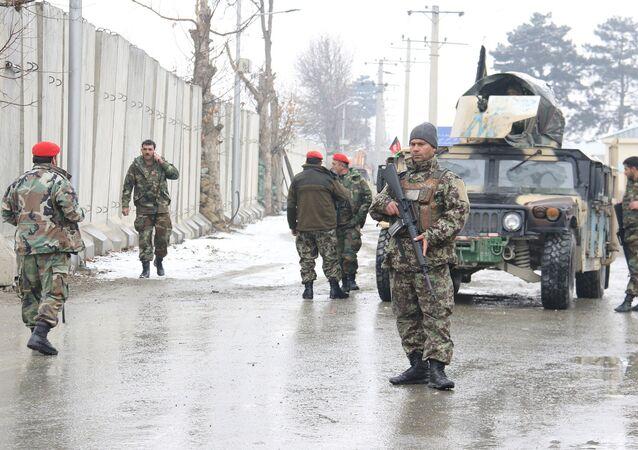 هجوم على ثكنة عسكرية في كابول/ 29 يناير/كانون الثاني 2018