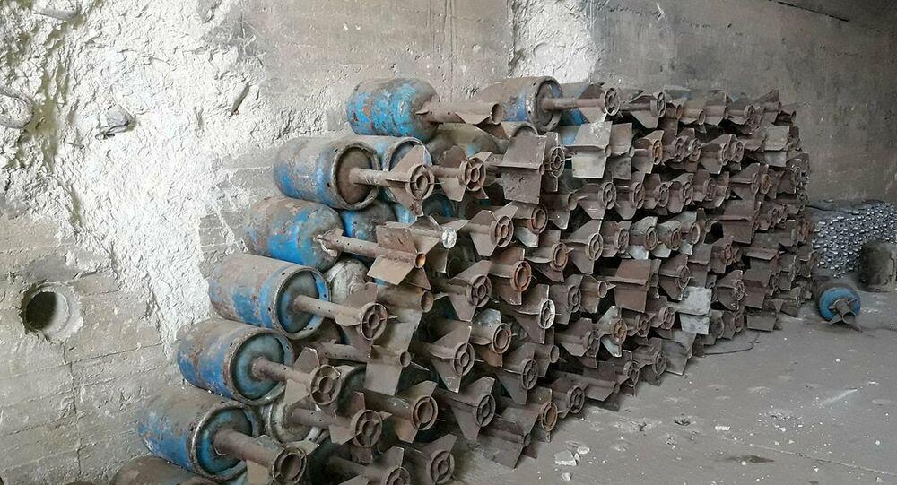هذا ما عثر عليه الجيش السوري خلال تحرير المطار