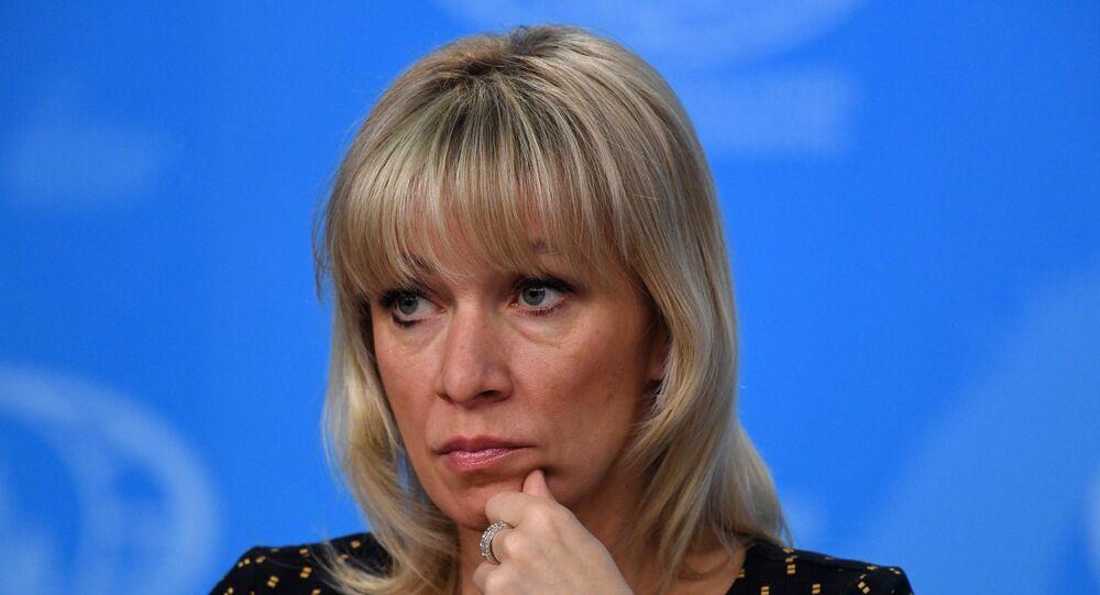 المتحدثة الرسمية لوزارة الخارجية الروسية ماريا زاخاروفا