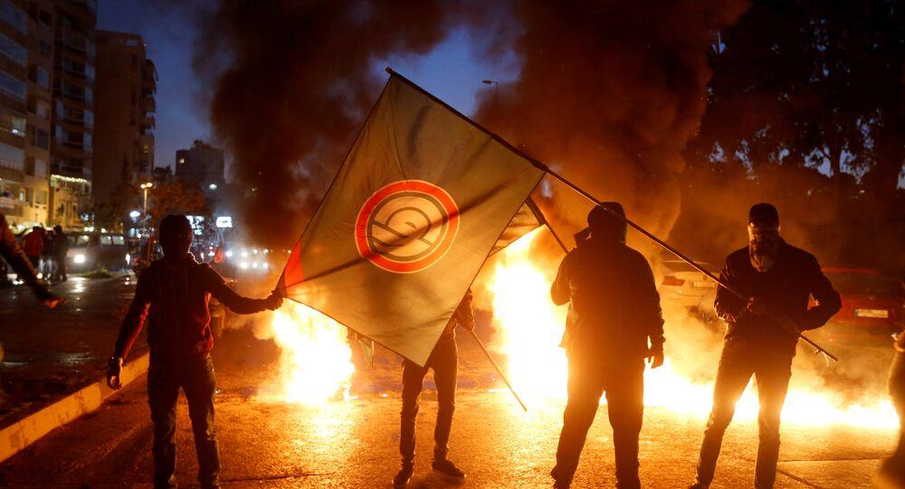 مناصرو حركة أمل في بيروت