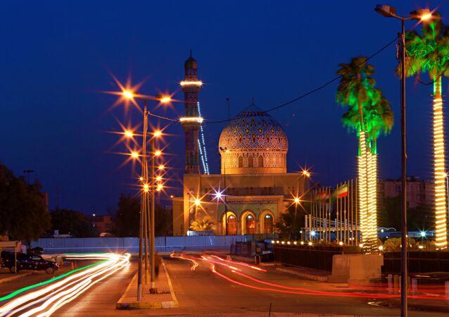 الحياة اليومية في العراق - جامع 17 رمضان في بغداد