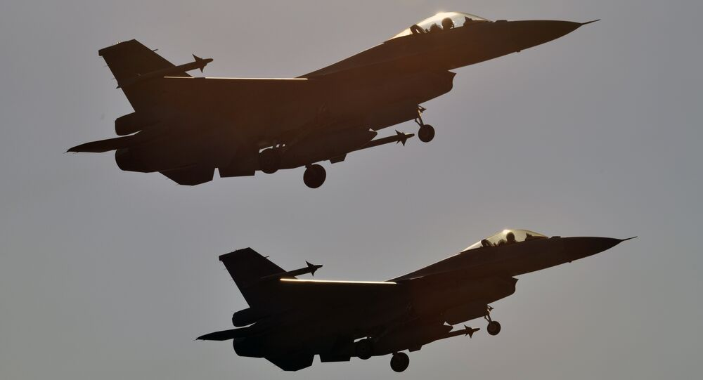مقاتلات إف 16 تايوان