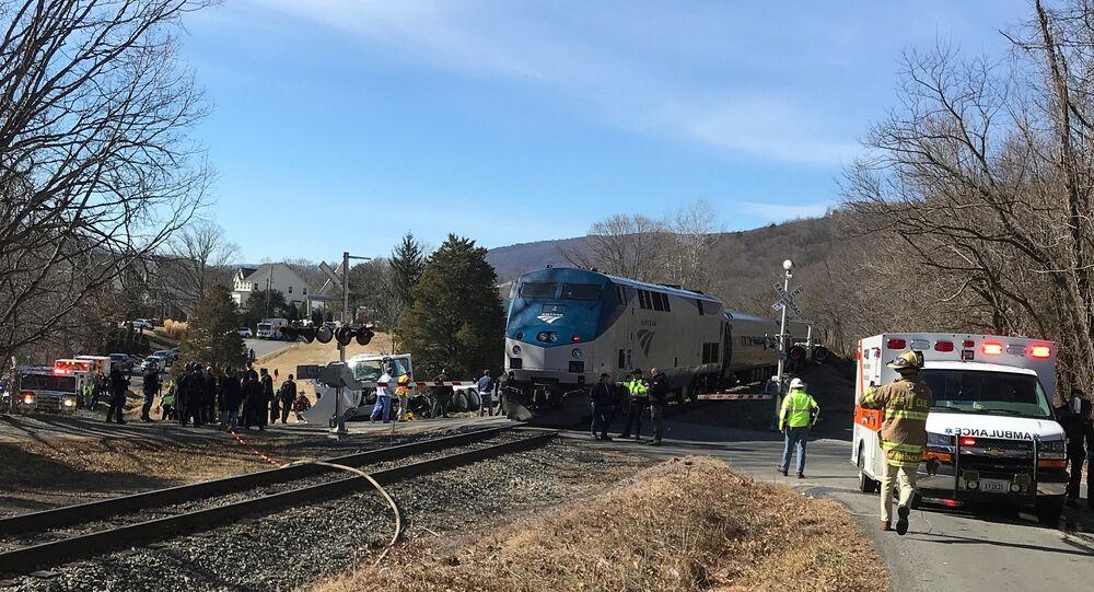 حادث قطار يقل نوابا جمهوريين في أمريكا