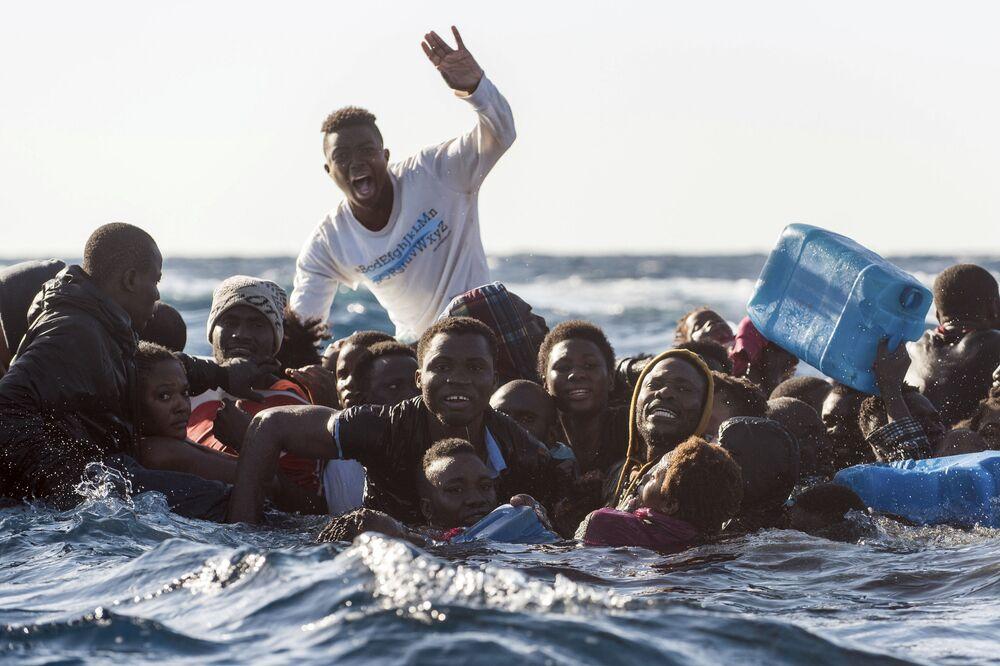 مهاجرون في البحر الأبيض المتوسط، 27 يناير/ كانون الثاني 2018