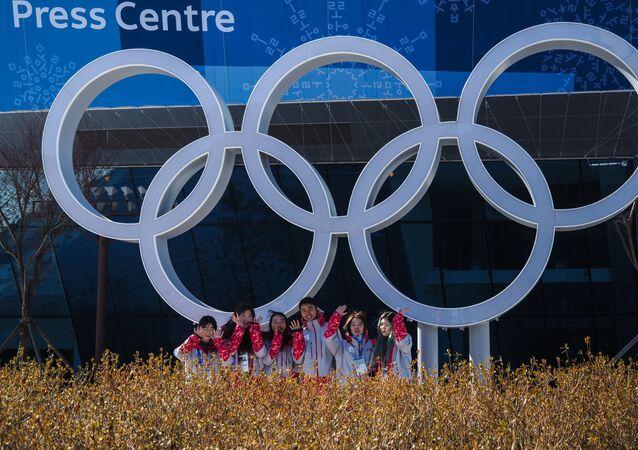 التحضيرات لإقامة الألعاب الأولمبية الشتوية لعام 2018 في بيونغ تشانغ، كوريا الجنوبية