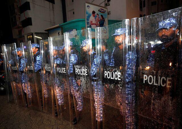 شرطة المالديف