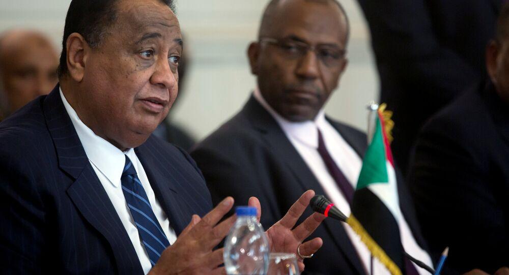 وزير خارجية السودان إبرهيم الغندور