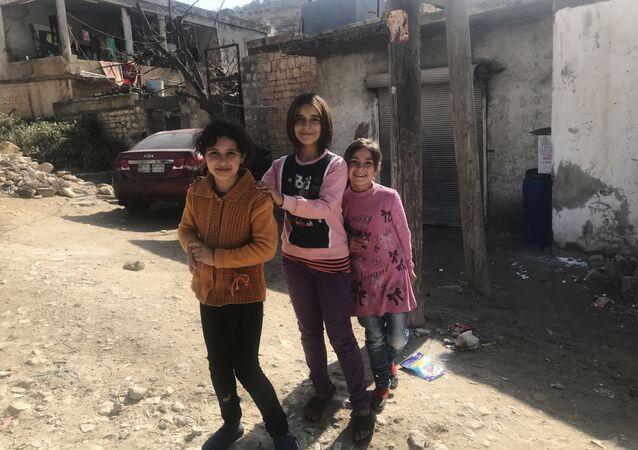 بلدة جنديرس في قرية خالطان في ضواحي عفرين شمال سوريا