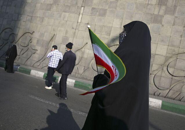 الاحتفال بالذكرى الـ 39 للثورة الإسلامية في طهران، إيران 11 فبراير/ شباط 2018