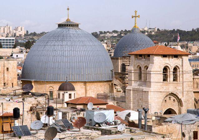 مدينة القدس - كنيسة القيامة