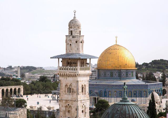 مدينة القدس - مسجد قبة الصخرة