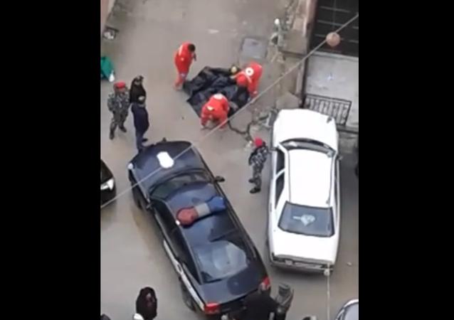 سقوط عاملة إثيوبية
